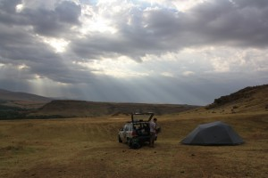 First Kazakh Campsite